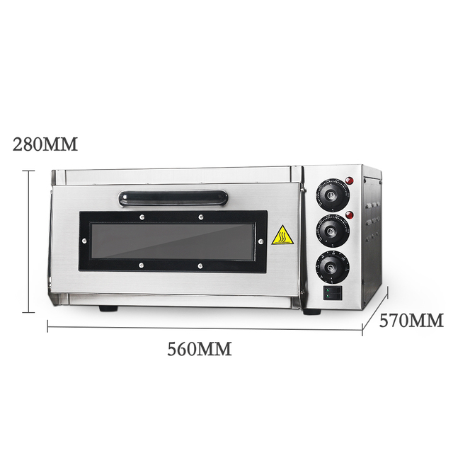 Stainless Steel Electric Pizza Oven 3