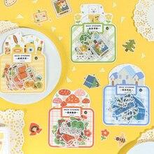 Mohamm 40 шт. наклейка s Northland сказочная серия креативная наклейка с милым рисунком хлопья Скрапбукинг подарок для девочек школьные принадлежности