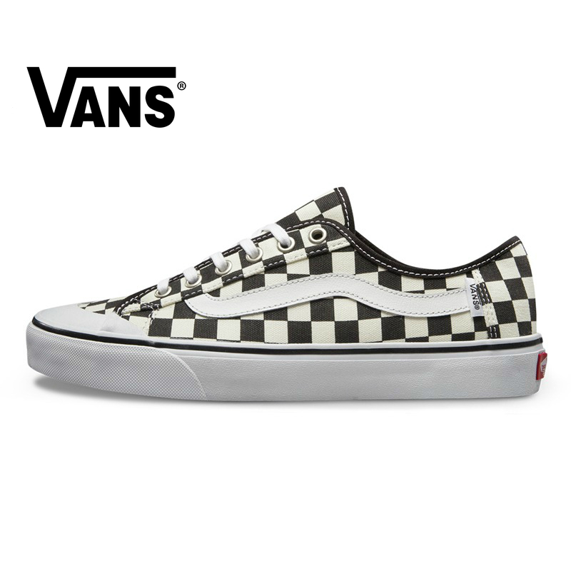 VANS STYLE 36 SF Men And Women Shoes Original Authentic Black And White Plaid Canvas Outdoor Street Style 2019 New VN0A3MVL01U