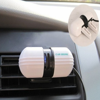Auto oczyszczacz powietrza samochód stylizacji ozonator Super stosowany samochód jonizator ozonu Generator pojazdu oczyszczanie powietrza w Samochodowe oczyszczacze powietrza od Samochody i motocykle na