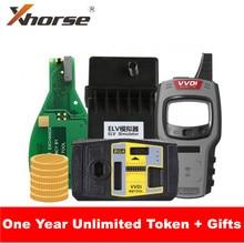 Xhorse V5.0.5 VVDI MB بغا أداة مفتاح مبرمج مع بغا آلة حاسبة وظيفة مع VVDI أداة مفتاح صغير/ELV محاكي تماما 4 هدايا