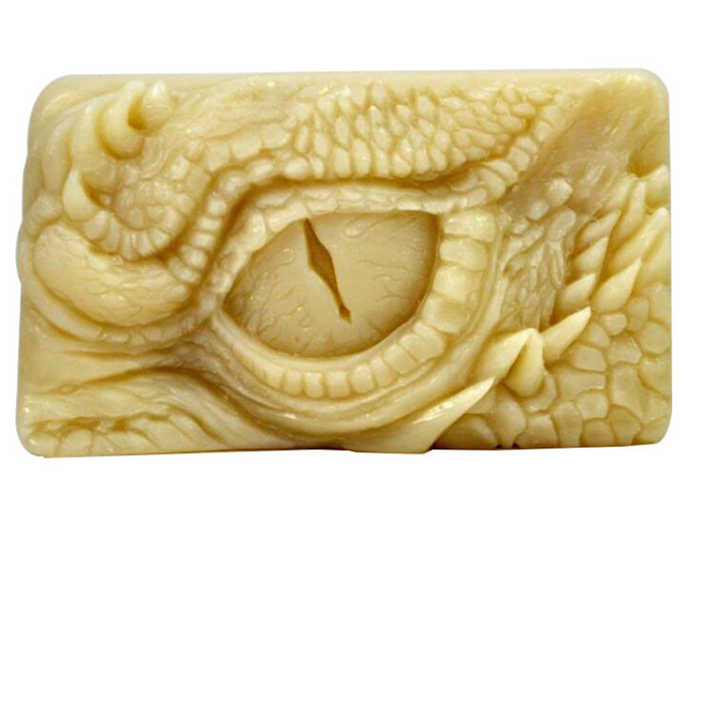 Dragon Eye Pattern Soap Silicone Mold Crafts Party Dessert Cake Baking Mold Clay Plaster DIY Decorating Art Crafts