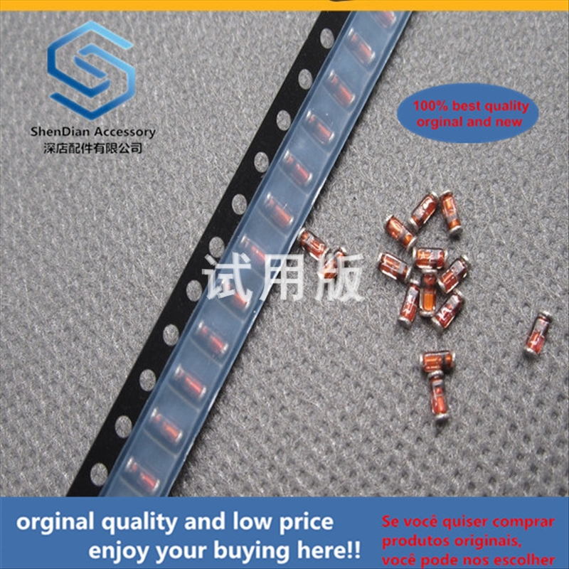 50pcs 100% Orginal New Best Quality LS4148-GS08 Patch Switch Diode 75V 150MA LL34 Glass Cylinder