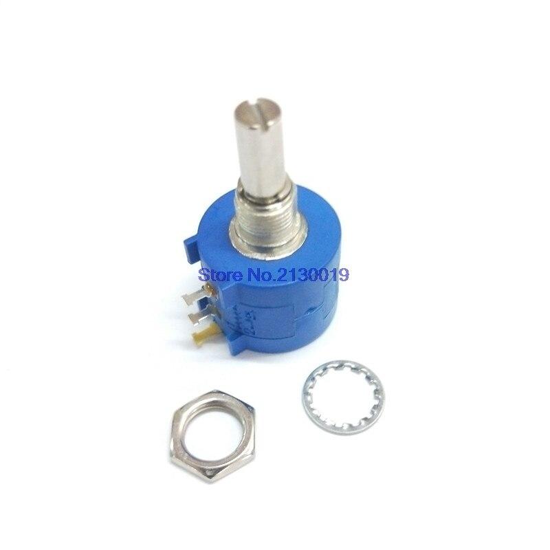 1 1 pçs/lote 3590S K 50 20 10 5 2K K K K K 100K ohm Precision Potentiometer Resistor Ajustável 3590 102 103 502 103 203 503 104