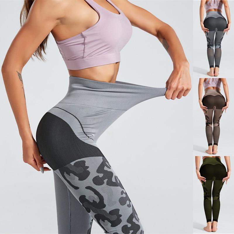 Women Compression Yoga Shorts High Waist Running Sports Hot Pants Dri fit Tights