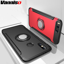 Vanniso Phone Case For Xiaomi Redmi Note 7 5 6 4 Ring Holder Stand Cover Mi9 mi8 mi6 Pro Magnetic