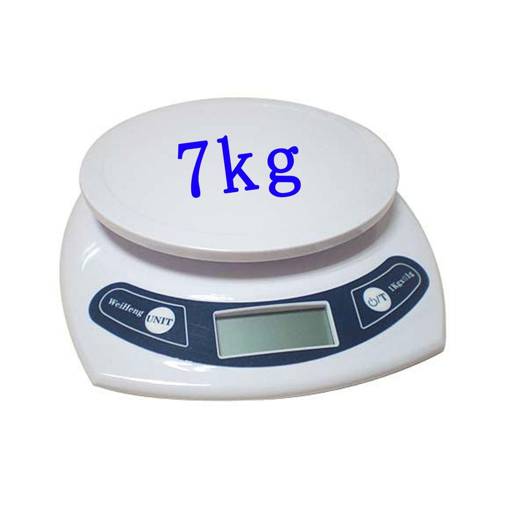 7kgs/1g Digital Kitchen Scale,LED Electronic Food Diet Measuring Weight,Battery Operated Mini Cooking Balance