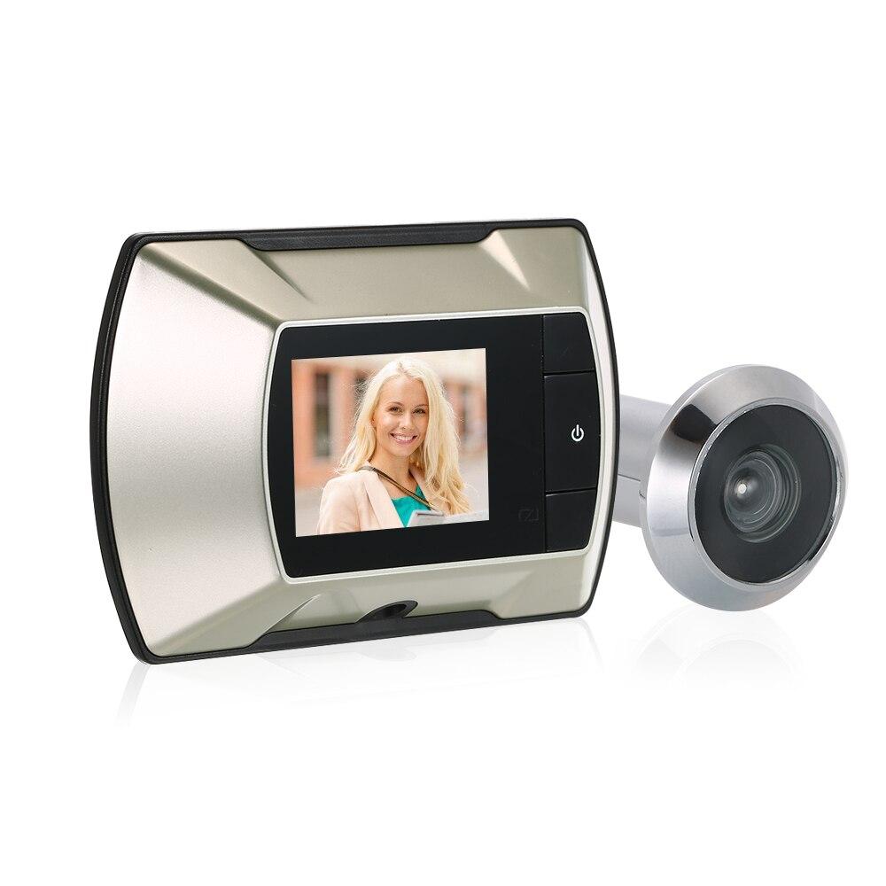 Цифровой дверной звонок с цветным ЖК экраном 2,4 дюйма, дверной звонок с углом обзора 150 градусов, электронный дверной видео звонок, дверная камера, уличный дверной Звонок|Дверной звонок|   | АлиЭкспресс