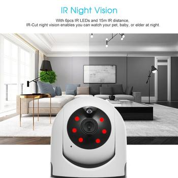 1080P 720P Home Security IP Camera Two Way Audio Wireless Mini Camera Night Vision CCTV Wifi Camera Baby Monitor Icsee 4G CMOS image