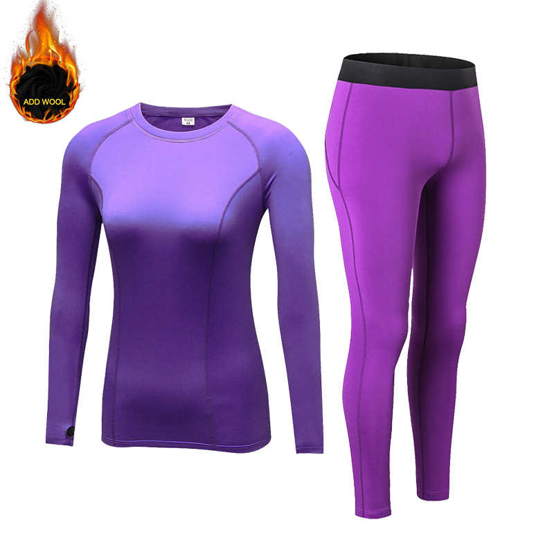 New Long Johns Thermal Underwear Women Warm Breathable Plus Vlet Underwear Sets Thermo Set Pajamas Female Winter Sleepwear