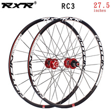 RXR mountain bike MTB cross country cycling wheel hub bike parts 27.5 RC3 Carbon wheelset bearing Aluminum alloy bicycle wheel стоимость