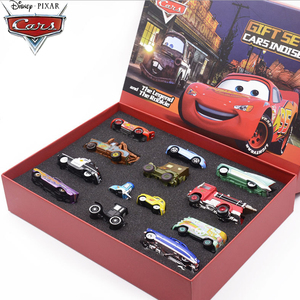 1:55 Disney Pixar Cars 3 Metal Diecast Car Model Toy Gift Set Lightning McQueen Jackson Mack Uncle Truck Boy Birthday Toys Gift