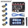 BIGTREETECH BTT SKR V1.4 SKR V1.4 Turbo Board TFT35 V2.0 pantalla táctil 5 uds TMC2209 TMC2130 controlador de Motor paso a paso 3d partes de la impresora
