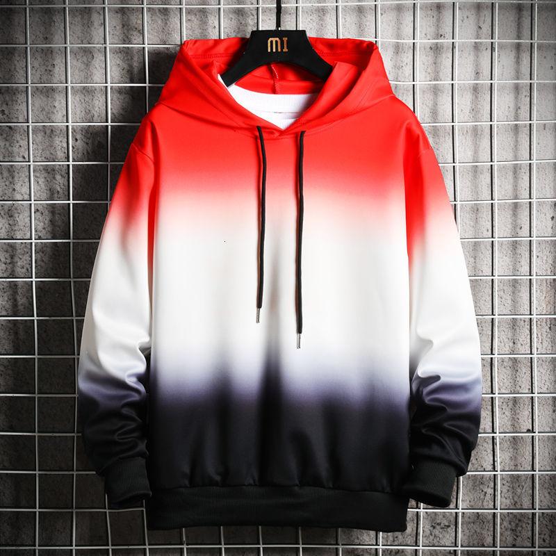 Hybskr Funny Printed Men Hoodies 2020 Autumn New Men's Hooded Sweatshirts 4 Colors Man Streetwear Casual Pullovers
