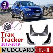 Брызговик для Chevrolet Tracker Trax 2013~ Fender брызговик закрылки брызговик аксессуары