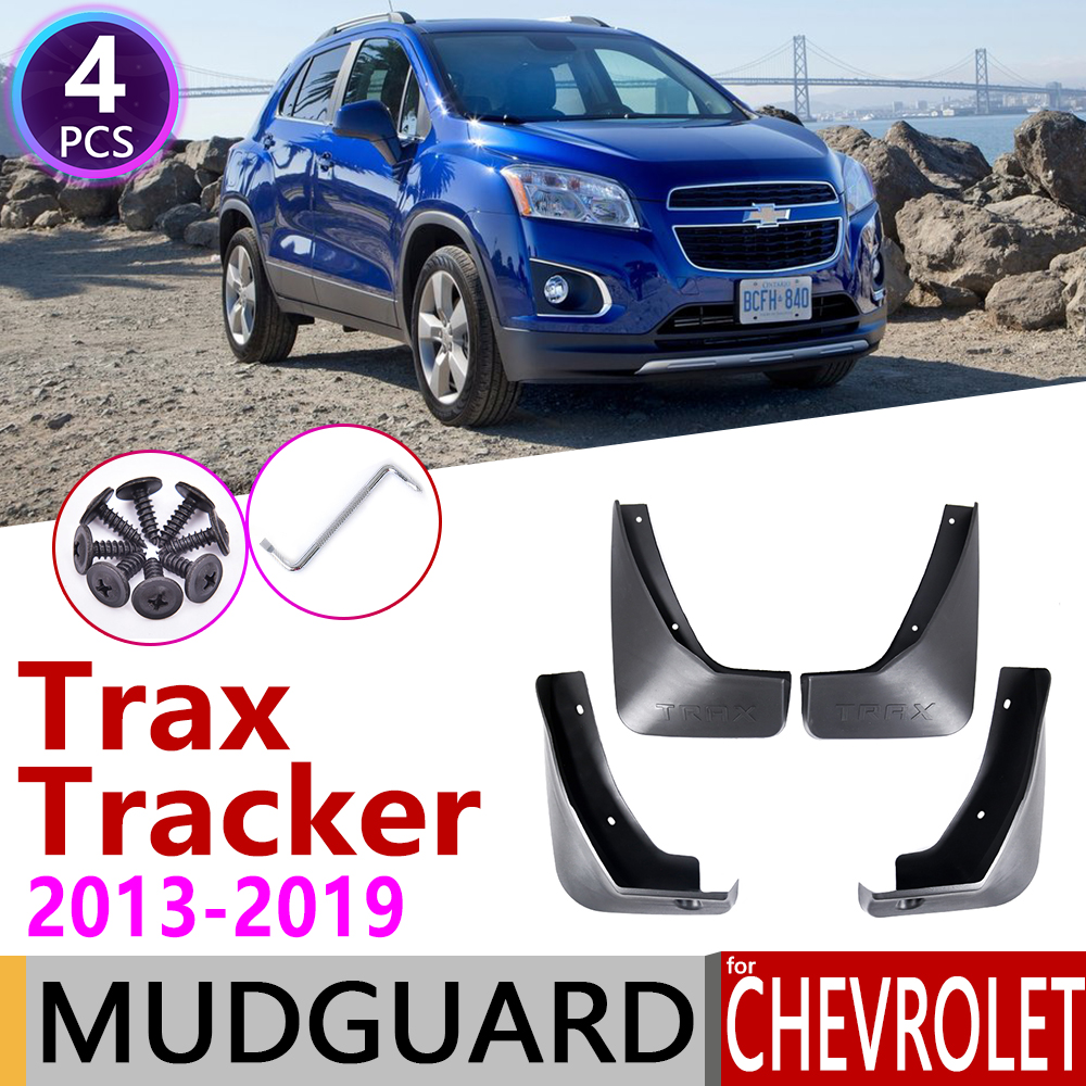 Mudflap For Chevrolet Trax Tracker 2013~2019 Fender Mud Guard Flap Splash Flaps Mudguard Accessories 2014 2015 2016 2017 2018