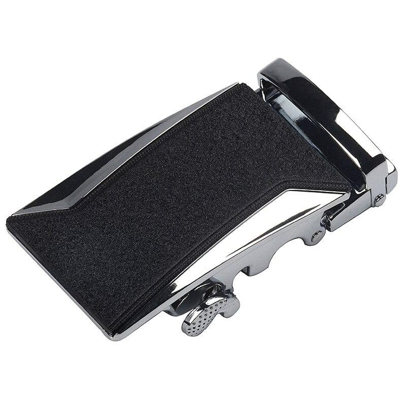 New Arrival Fashion Men's Business Alloy Automatic Buckle Unique Men Plaque Belt Buckles For 3.5cm Ratchet Men Apparel Accessor