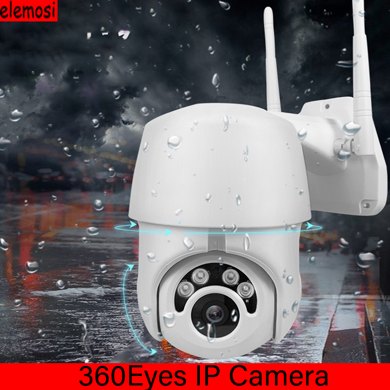 360Eyes HD Wireless WIFI IP Camera IP66 Automatic Tracking Outdoor Waterproof Dome Surveillance  IR Home Surveilance Wifi Camera