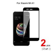 Per Xiaomi Mi A1 protezione dello schermo del telefono in vetro temperato a copertura totale pellicola protettiva 2.5D 9H durezza