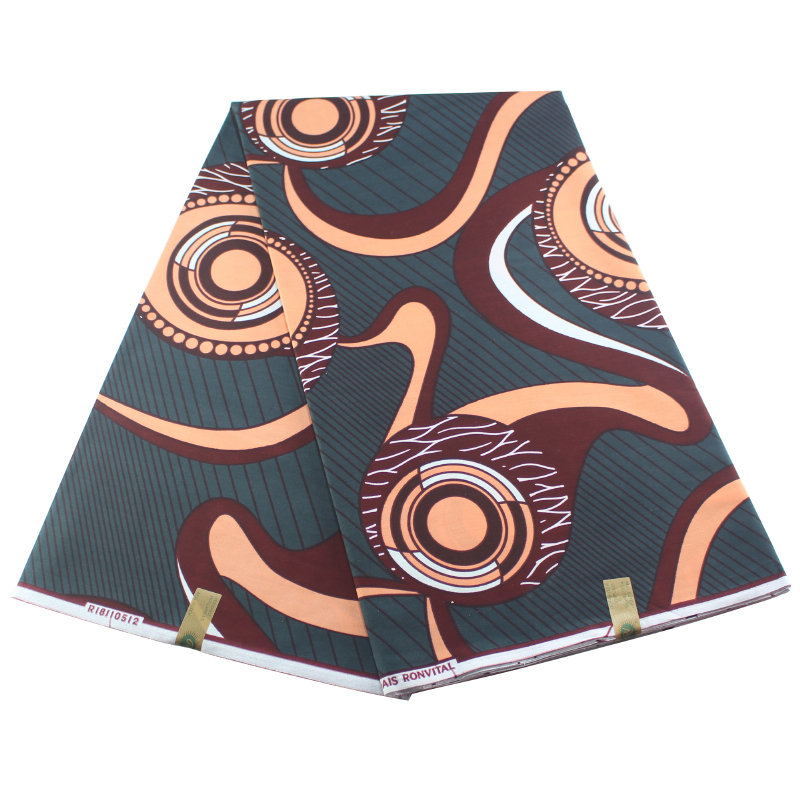 Ankara African Printed Wax Guaranteed Fabric 100% Cotton Best Quality Sewing Material 6yards Lot Pagne Wax
