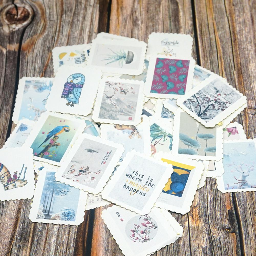 60pcs/Bag DIY Diary Stickers Self-made Beauty Small Stickers Decorative Stationery Stickers