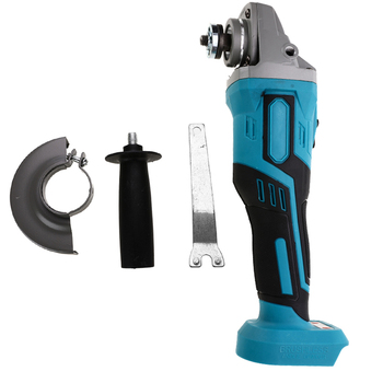 Brushless Electric Angle Grinder Grinding Machine 125/100mm Cordless Woodworking Metal Cutting Power Tool For Makita Battery 18V