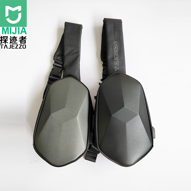 Xiaomi Bags Pu-Backpack-Bag Chest-Pack Polyhedron Travel BEABORN Waterproof Sports Women