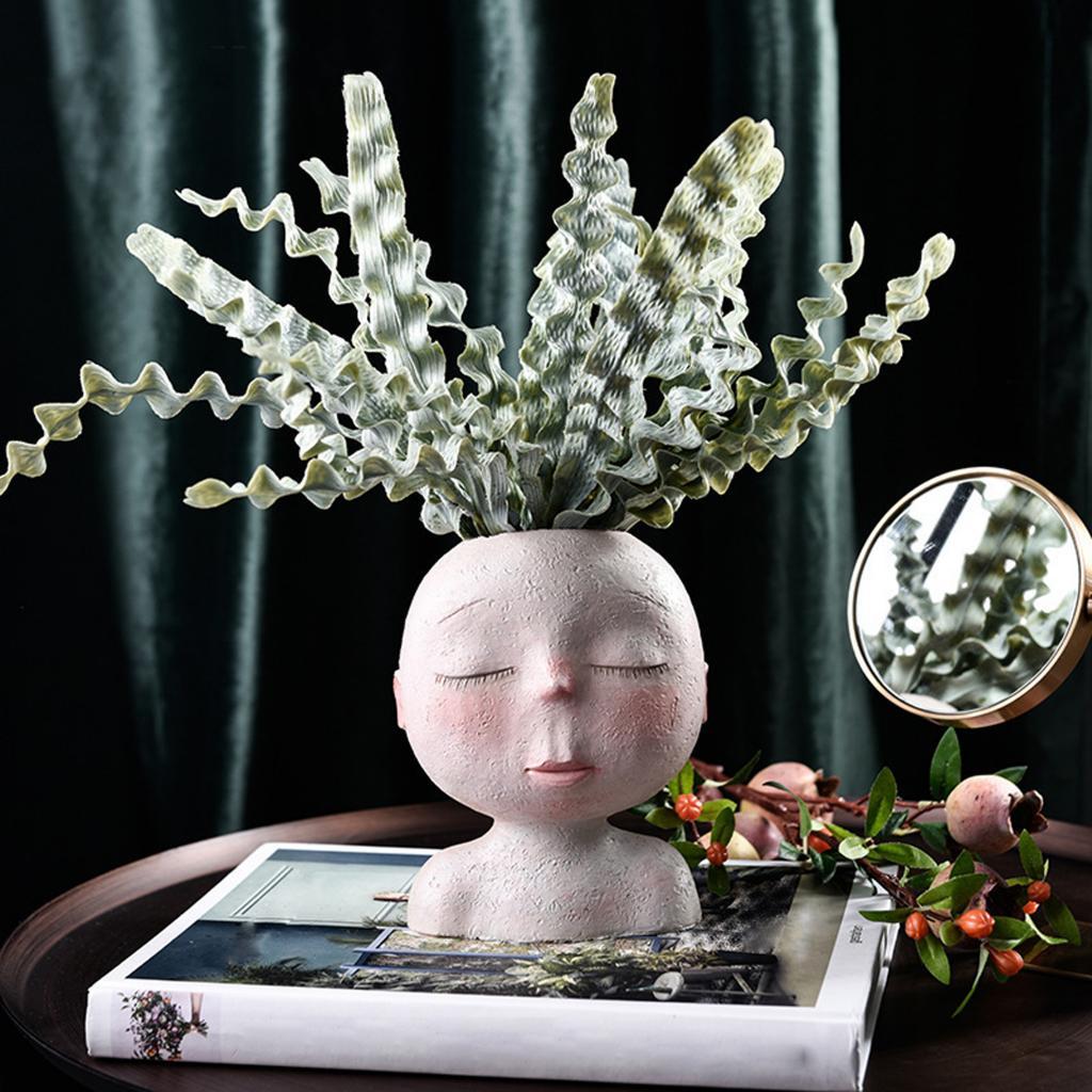 Купить цветочный горшок смола суккулентные растения ваза цветок плантатор