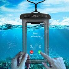 Универсальный чехол водонепроницаемый чехол для телефона для iPhone 11 XS MAX 8 7 6 6S чехол сумка чехол для samsung S10 S8 водонепроницаемый чехол для плавания