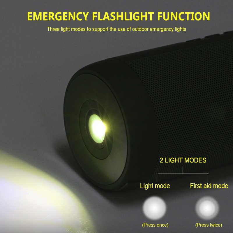 T2 ワイヤレス Bluetooth スピーカー最高の防水ポータブル屋外スピーカーミニ列ボックススピーカーデザイン iphone xiaomi