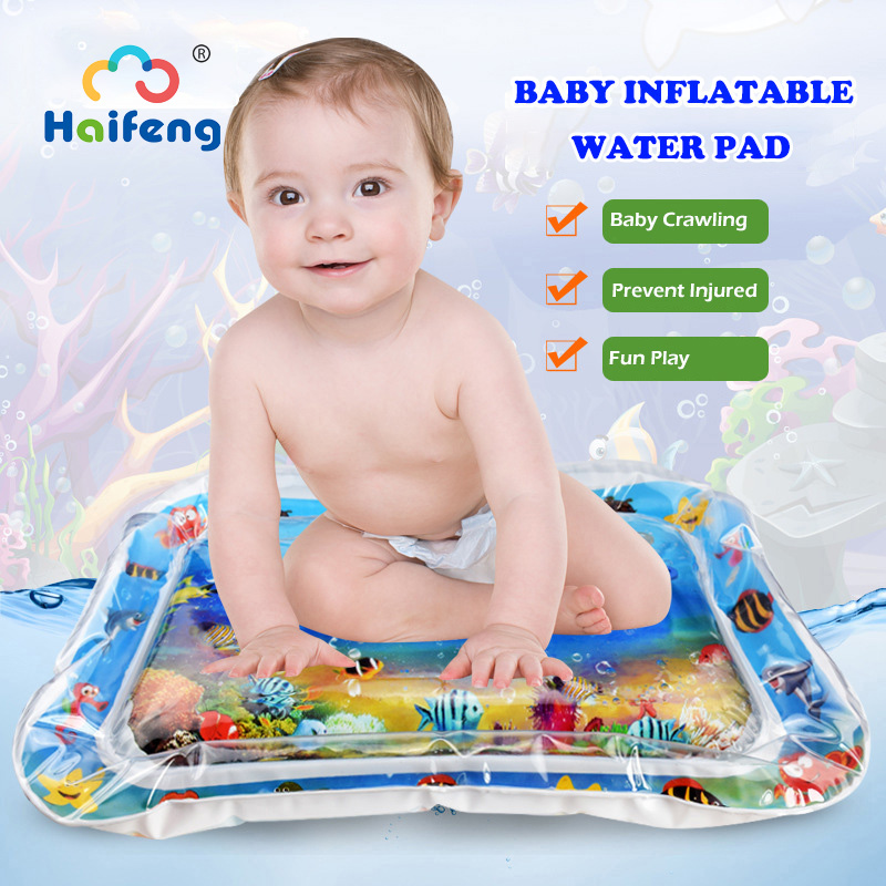 Baby Infant Play Mat Children Water Play Mat Toy Inflatable Water Mat Fun Activity Game Center Toddler Activity Toy For Children