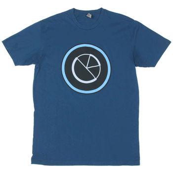 Camiseta Grande de Adobe Software Company Manager, Photoshop, computador Tech, camiseta azul