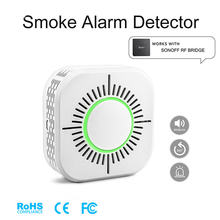 Детектор дыма rf433 беспроводной датчик и пожарной сигнализации