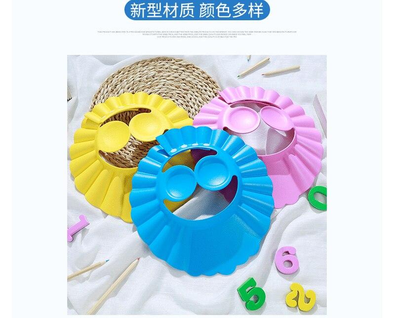 Visi/ère pour Shampoing couleurs assorties Bain B/éb/é Protection Yeux