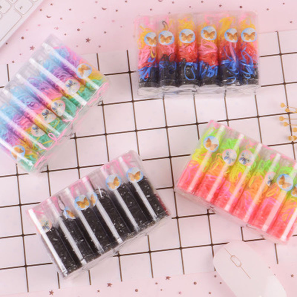 Baby Girl Disposable Elastics Rubber Hair Bands Children Ponytail Holder Kid Small Ring New Arrival