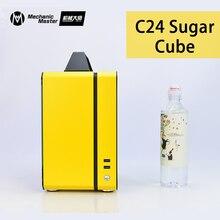 [Mechaniker Master] C24-Sugar Cube Air Vorderseite Version Tragbare Mini Desktop Chassis ITX PC Fall Gaming PC Gabinete computador
