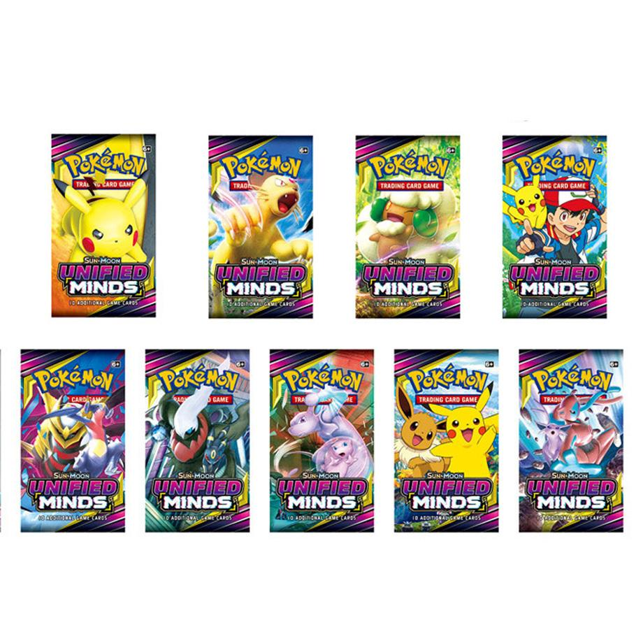 NEW Pokemon Cards TCG: Sun & Moon Edition 4 Packs Per Box Collectible Trading Card Game