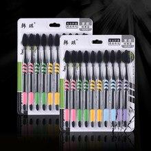 Brosse à dents Double Ultra douce en charbon de bambou, Nano brosse à dents, soins buccaux, hygiène dentaire, nouveauté, 1/10 pièces