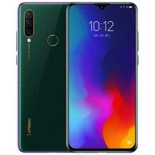 "Lenovo z6 lite k10 nota l38111 rom global 6 gb 64 gb 6.3 ""smartphone 16mp triplo cams snapdragon 710 octa núcleo do telefone móvel 4050 mah"