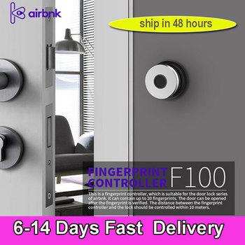 Inteligentne drzwi do domu blokada F100 Fingprint rozpoznawanie urządzenia System kontroli dostępu do drzwi dla M500 M300 inteligentny zamek linii papilarnych tanie i dobre opinie CN (pochodzenie)