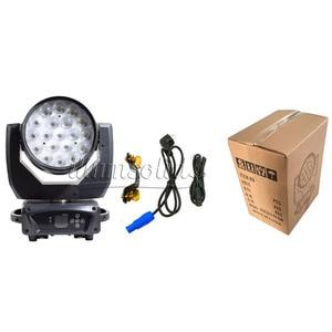 Image 2 - 19x15W Zoom Washing Moving Head Disco Light Dmx Led Beam Party Lights For Dj Nightclub Stage Lighting Effect  2pcs/Lot
