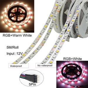 Image 5 - 5050 LED 스트립 WIFI RGB RGBW RGBWW 5M 10M 15M RGB Led 색상 변경 가능한 유연한 LED 스트립 빛 + WIFI 원격 컨트롤러 + 전원