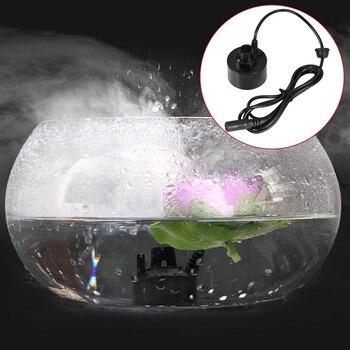 -400ML/H Mini Ultrasonic Mist Maker Fogger Water Fountain Pond Fog Machine Atomizer Air Humidifier