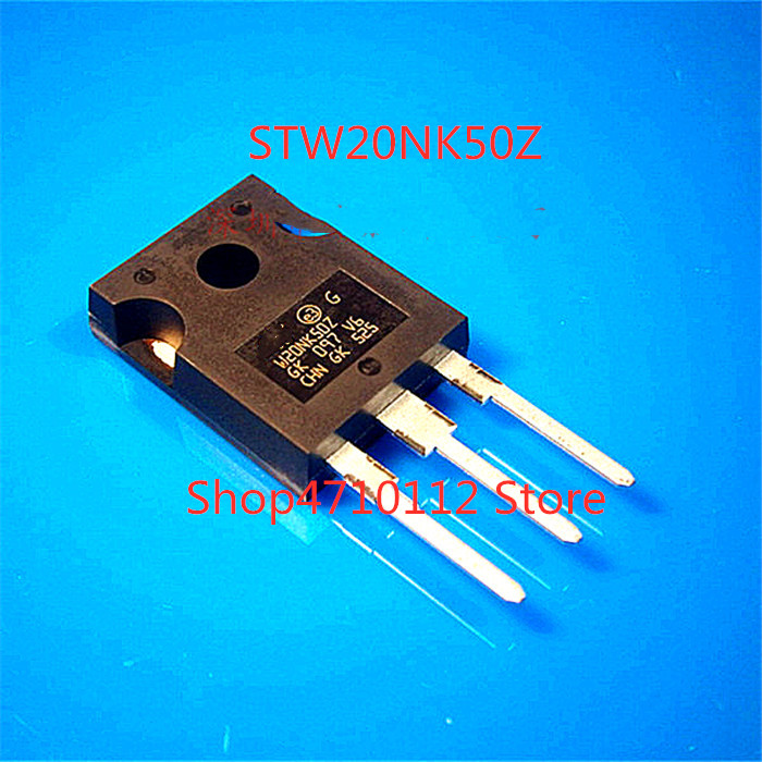 Free Shipping  10PCS/LOT NEW Original STW20NK50Z W20NK50Z TO-247 In Stock