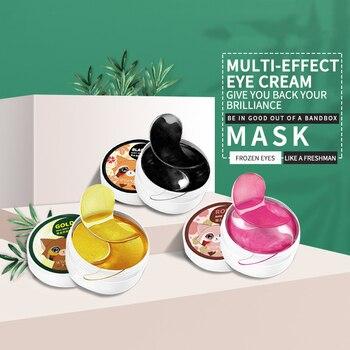 Gold Moisturizing Eye Mask Patch 60pcs=30pairs Crystal Collagen Anti-Wrinkle Anti Aging Remove Dark Circles Eye Skin Care Mask