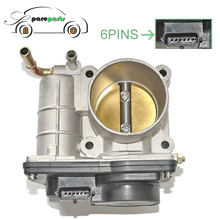 LETSBUY 16119ED000 Throttle Body Assembly High Quality For NISSAN MARCH MICRA NOTA QASHQAI 7519168 8UK007623241 2508538 RME5011C