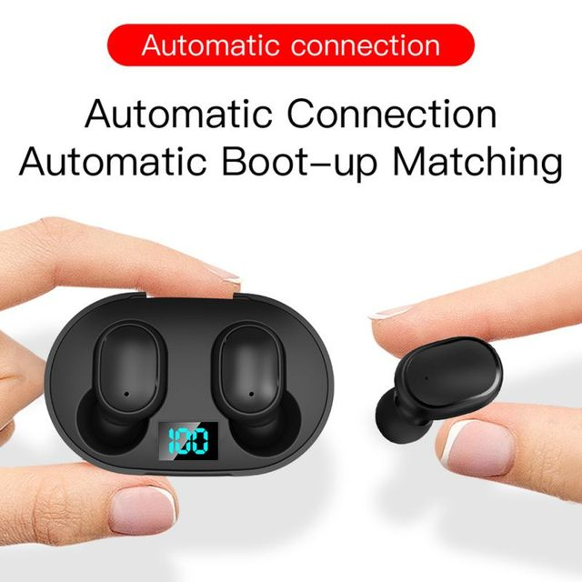 PJD TWS Bluetooth Earphones Wireless Earbuds For Xiaomi Redmi Noise Cancelling Headsets With Microphone Handsfree Headphones 3