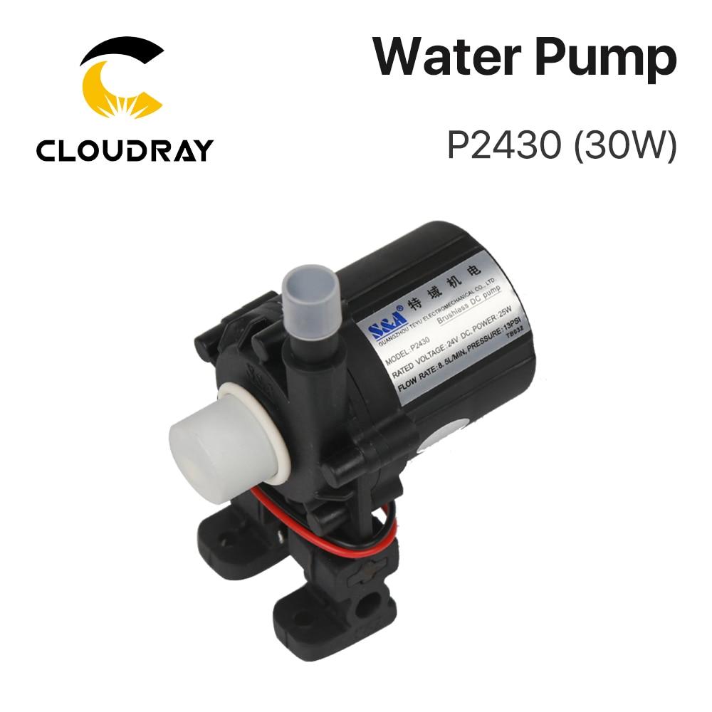 Pompe à eau Cloudray P2430 P2450 P24100 pour refroidisseur industriel S & A CW-3000 AG (DG) CW-5000 AH (DH) CW-5200 AI (DI)