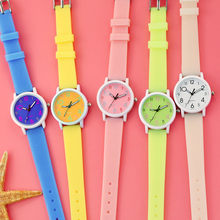 Kids Wrist Watch Cartoon Candy Watches Rubber Quartz Clock Best Gift Watch Children Silicone Sports Watch for Girls reloj montre 2016 children silicone watch brand quartz wrist flowers watch baby for girls boys waterproof kid watches fashion casual reloj