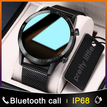New L13 Smart Watch Men IP68 Waterproof ECG PPG Bluetooth Call Blood Pressure Heart Rate Fitness Tracker Sports Smartwatch - discount item  35% OFF Smart Electronics